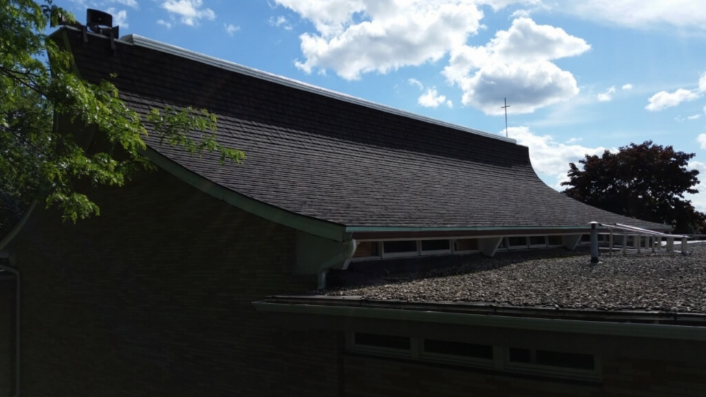 Black Creek Church Commercial Roof Decra Steel Shingle