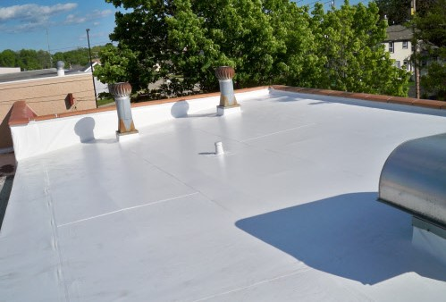Flat Roofing System Installation by NCW Exteriors