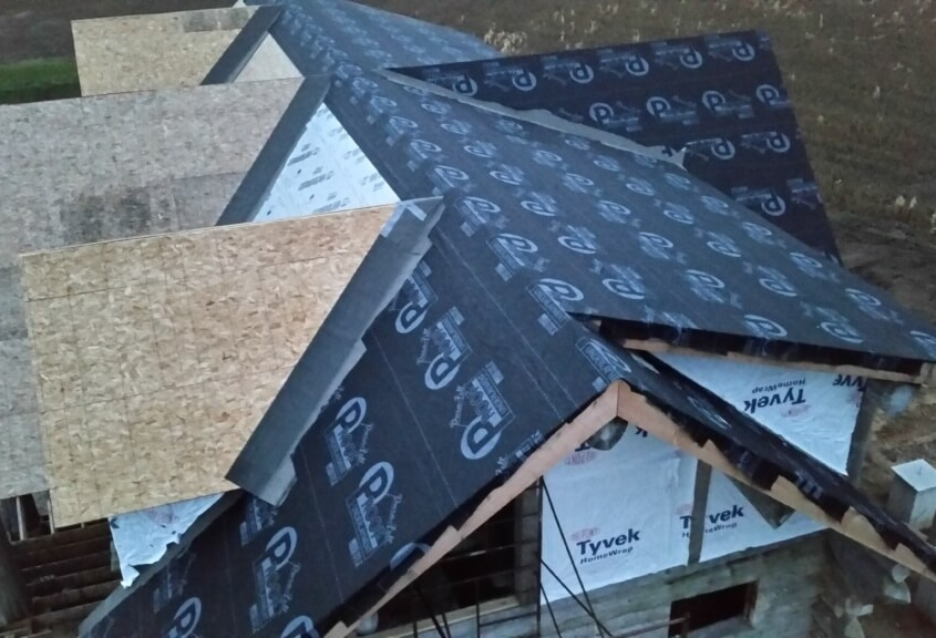 Clintonville New Construction Roofing in Progress