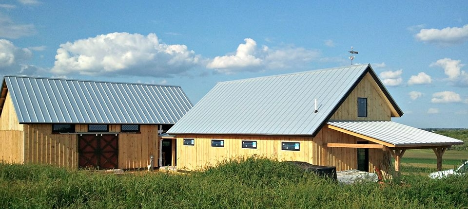 Commercial Metal House Roof in Central Wisconsin