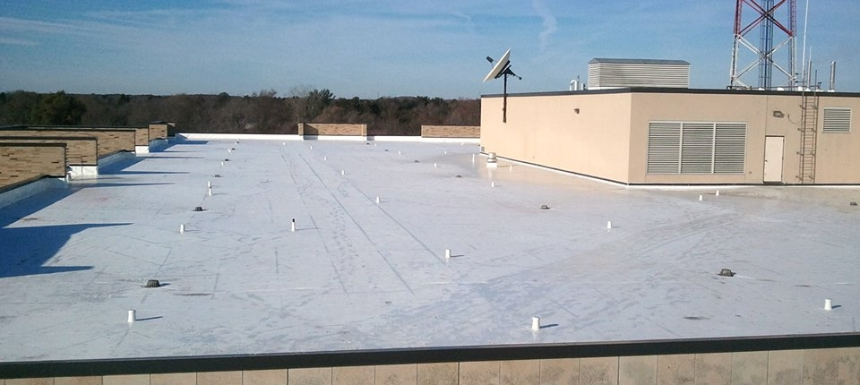 Duro-Last Flat Roof System on the Waupaca County Courthouse