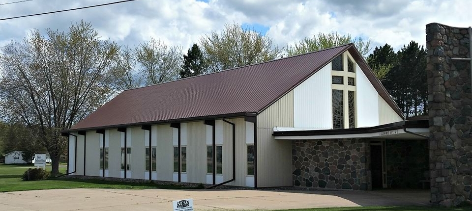 Wisconsin Church Commercial Steel Roof Installed by NCW
