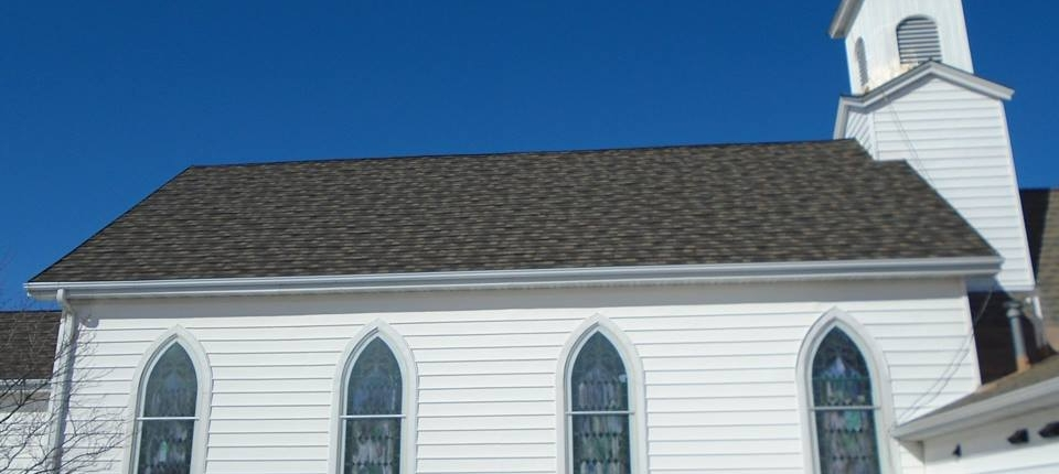 Shawano Church with Decra XD Steel Shingle
