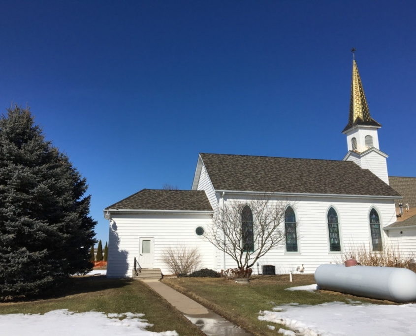 St John Hermansfort Shawano Church Roofing by NCW
