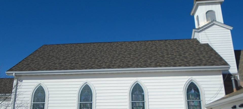 Wisconsin Church with Shingle Roofing