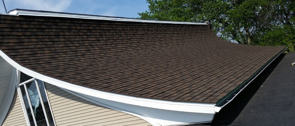 Black Creek Church with Decra Steel Shingle in Old Hickory Installed by NCW