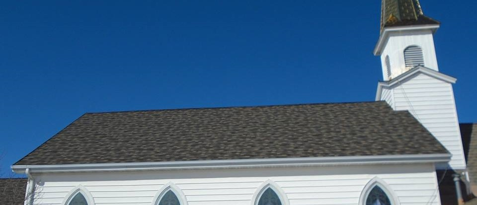 Shawano Church with Decra XD Steel Shingle Roofing Installed by NCW