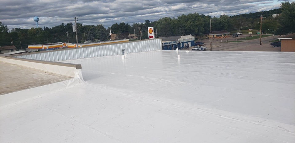 Custom Fabricated PVC Duro-Last Roof System by NCW